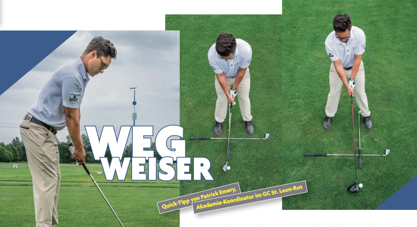 Golf Journal -> Wegweiser
