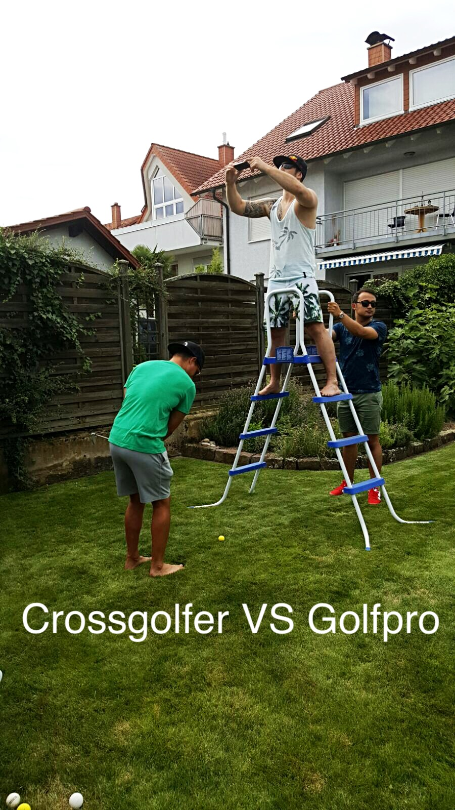 Crossgolfer VS Golfpro Part 1