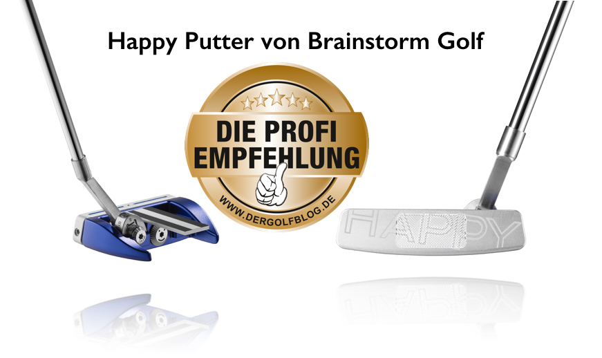 Produkttest: Happy Putter von Brainstorm Golf