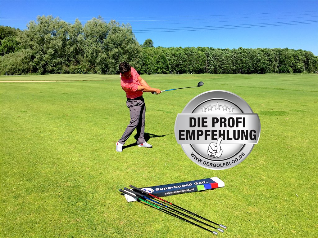 Produkttest: SuperSpeed Sticks von GTG Golf Tools Germany
