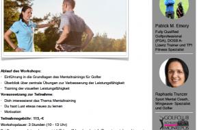 Flyer Golf Mental Workshop