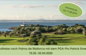 Golfreise Mallorca 2020