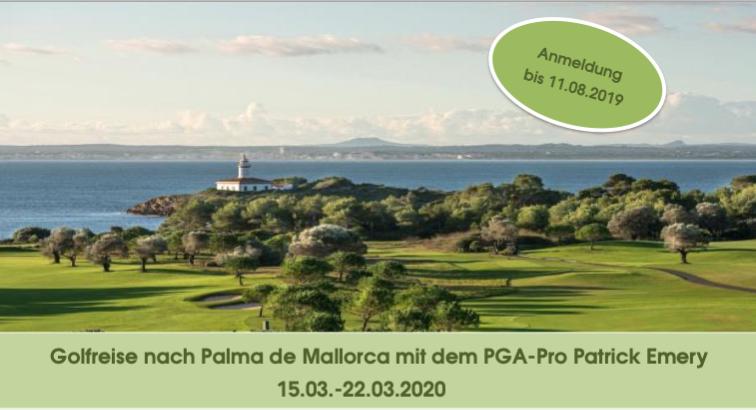 Golfreise nach Mallorca 2020